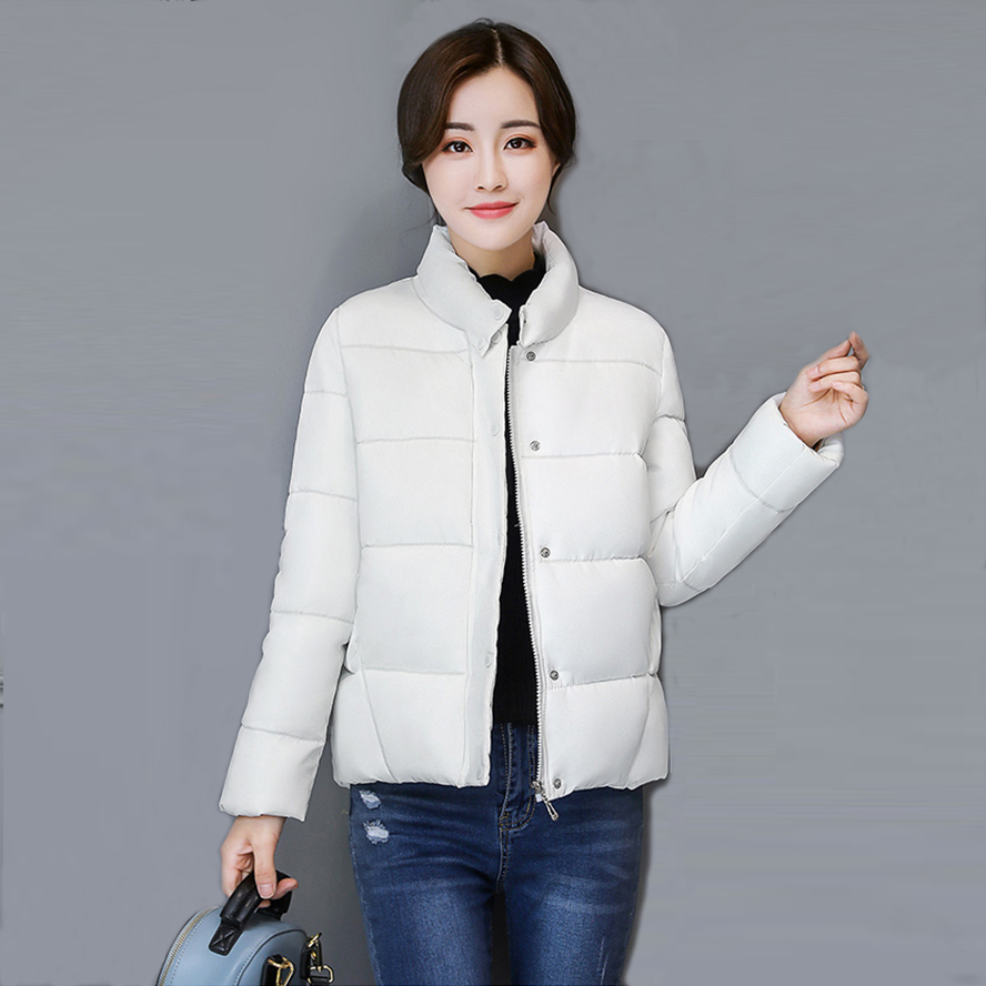 2017 New Women Short Loose   Parkas   Winter Fashion Jacket Thicken Outerwear Coats Casual Female Winter Warm Cotton Coats AC236