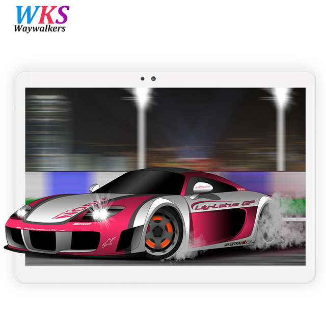 HOT 10.1 inch tablet PC Android 7.0 octa core RAM 4GB ROM 64GB 1920x1200 IPS Dual SIM card Bluetooth tablets Pcs Phone call