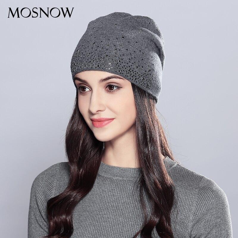 Sombreros de invierno Skullies gorros sombrero gorros de invierno para las  mujeres bufanda de lana Gorras fba59b8afc1c