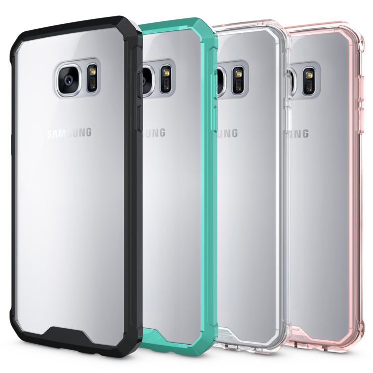 Чехол для Samsung Galaxy S7 Край ТПУ чехол для Samsung S7Edge SM-G9350 G935FD G935J/F/u/s /k/d/t/a/P/V прозрачной брони телефона ...