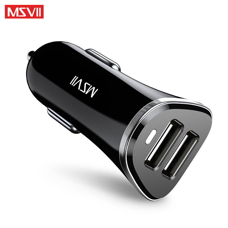 MSVII Dual USB Car Charger Quick Charge 3.0 Output 5V/3.1A