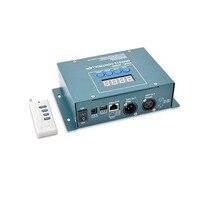 Stand Alone LED диммер контроллер с РФ дистанционного 12vdc 512 канала DMX dmx мастер Пульты ДУ для игровых приставок dmx300
