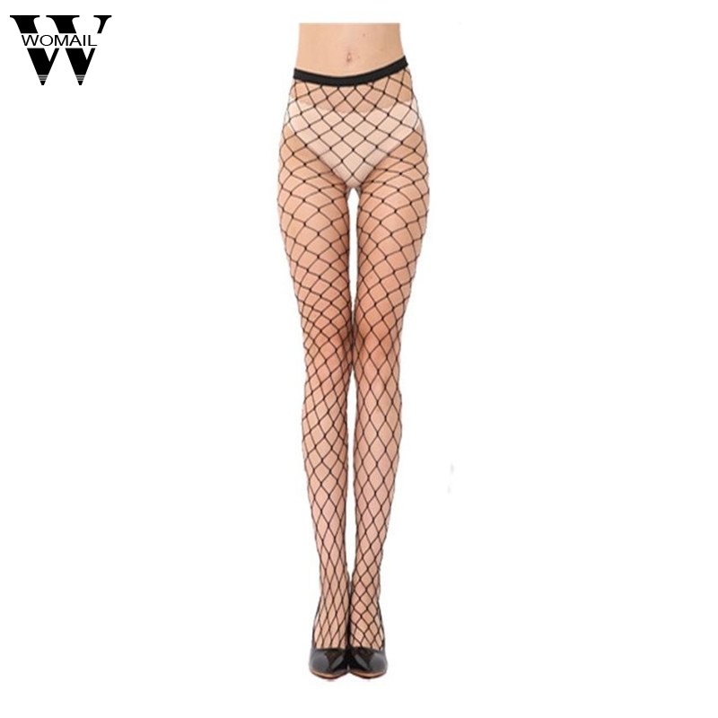 Summer Style Women Fishnet Tights Fashion Sexy Lady Black Nets Nylon Pantyhose Drop Ship 2017 New