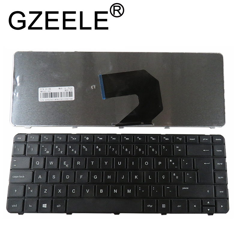 GZEELE New Portugal PO Laptop Keyboard For HP CQ430 CQ431 CQ435 CQ436 R15 635 655 650 630 636 BLACK