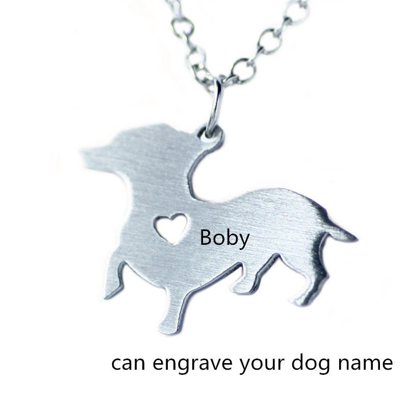 Jewellery & Watches Personalized Welsh Corgi Pembroke Necklace,cartoon Animal Jewelry For Love Dogs Can Engrave Name/birth Date Dog Necklace Invigorating Blood Circulation And Stopping Pains