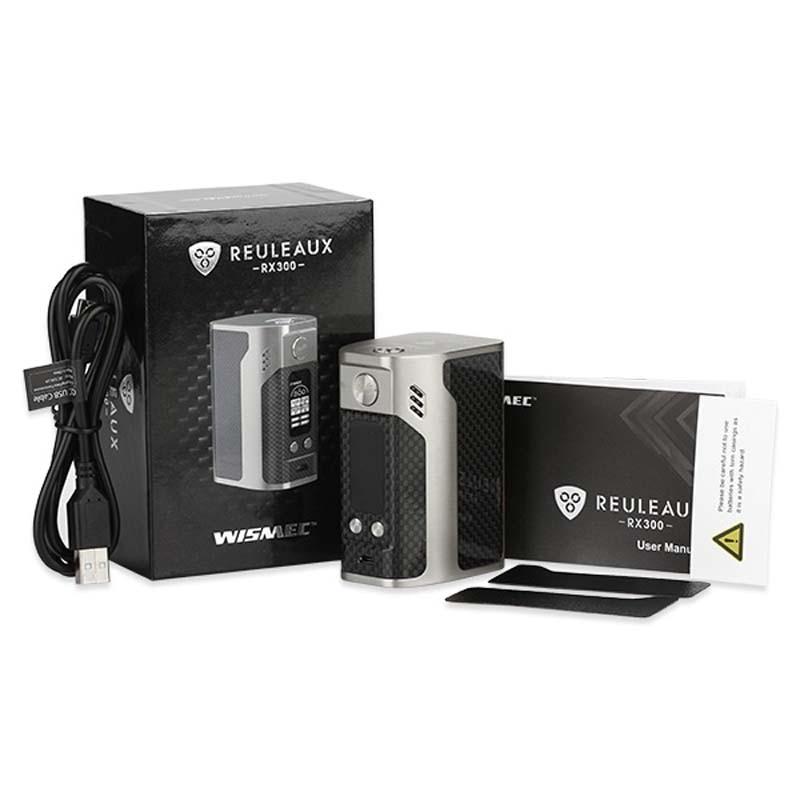Բնօրինակ 300W WISMEC Reuleaux RX300 TC Box Mod RX-300 VW / TC - Էլեկտրոնային ծխախոտ - Լուսանկար 4