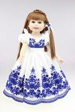 Muñeca reborn de 45 cm con vestido elegante