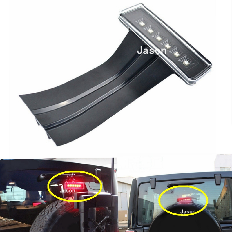 ФОТО Free Shipping LED Third Brake Light for 2007-2016 Jeep Wrangler JK Custom
