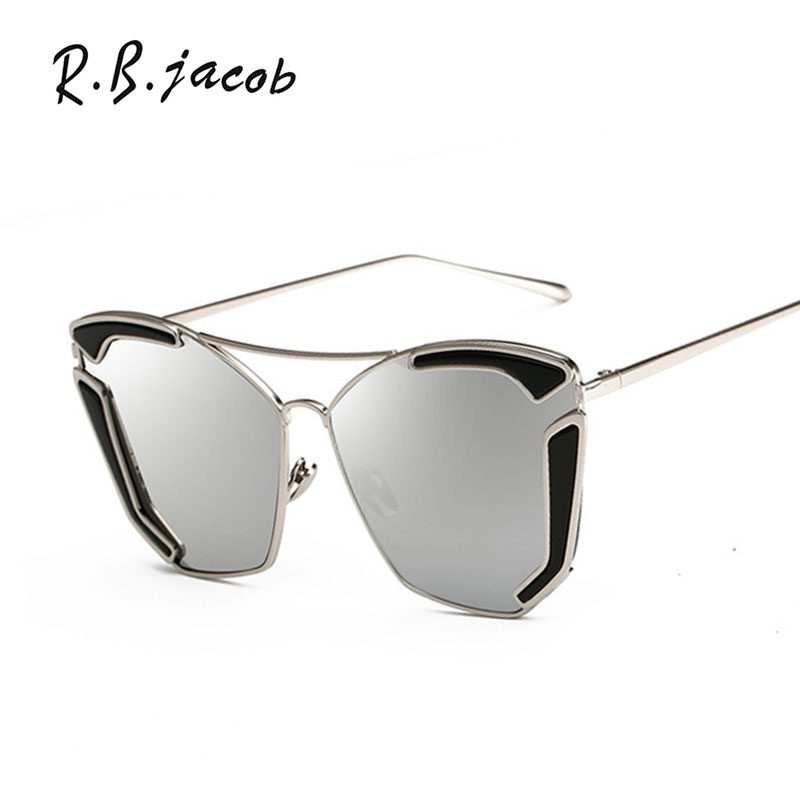 Mirror Sun Retro Glasses Female High Quality Round Small Size Sunglasses New Women Fashion Brand Designer Metal Frame Cat Eye