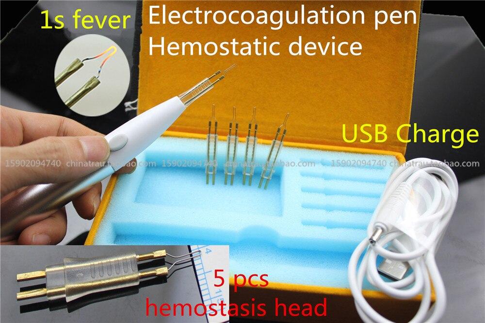 Медицинские Электрокоагуляция ручка гемостаза устройства кровеносных сосудов дважды раза веки гемостаза инструмент косметологии пластик... ...