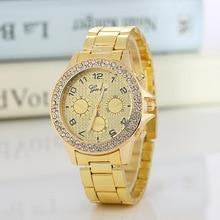 купить 2019 New Famous Brand Rosy Gold Casual Quartz Watch Women Full Stainless Steel Dress Watches Relogio Feminino Ladies Clock Hot по цене 388.18 рублей