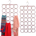 Fashion Multi-function Practical Scarf Stand Bath Towel Rack Household Decoration Jewelry Hanger Display Scarf Organizer Shelf