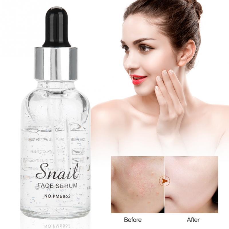 30ml Face Skin Care Moisturizing Snail Serum Snail Secretion Nourishing Skin Essence Face Anti-aging Essence