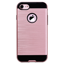 GrandEver Fashion Luxury 2 In 1 Case For Iphone 7 7 Plus Case Hard For Drawing Black Rose Gold Cover For Iphone 7plus Cases