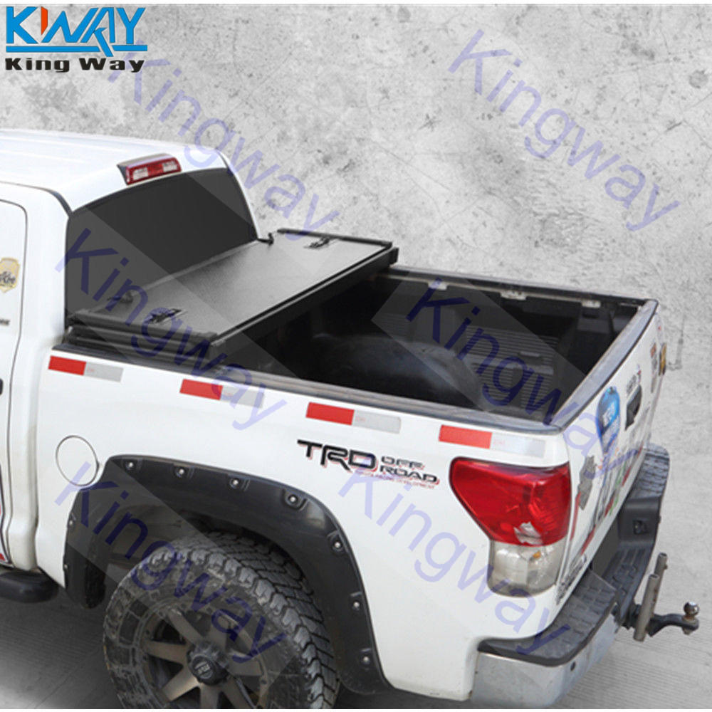 Best Discount Free Shipping King Way 6 5ft Short Bed Hard Tri Fold Tonneau Cover For 2002 08 Dodge Ram 1500 2500 3500 September 2020