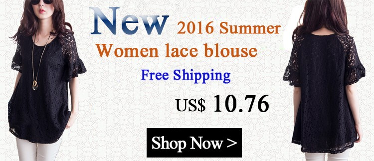 2016 women lace blouse