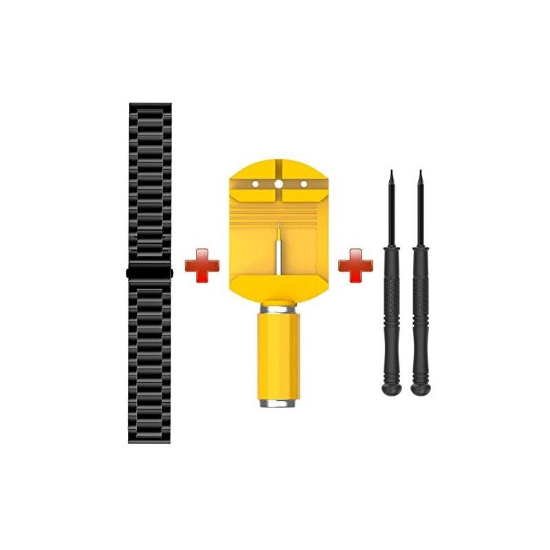 Correa de metal de acero inoxidable de 22 mm de ancho para Garmin - Accesorios para relojes - foto 5