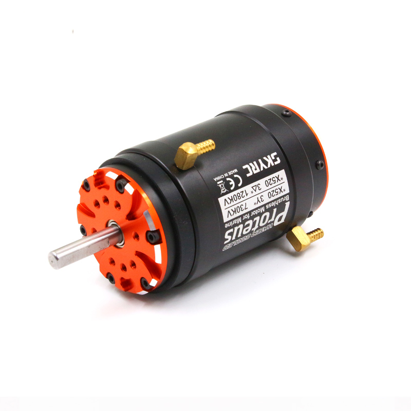 FATJAY SKYRC Proteus X520 SK 400008 brushless motor inrunner 730KV 1280KV water cooling for RC boats