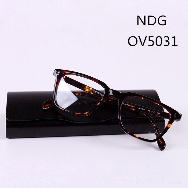 Aro completo Retângulo NDG Vidros do Olho Óculos de Armação para Homens e  Mulheres Eyewear do ae1b8352fb