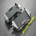 aluminum alloy radiator For Kawasaki KX 250/KX250 2-stroke 2005-2007 05 06 07