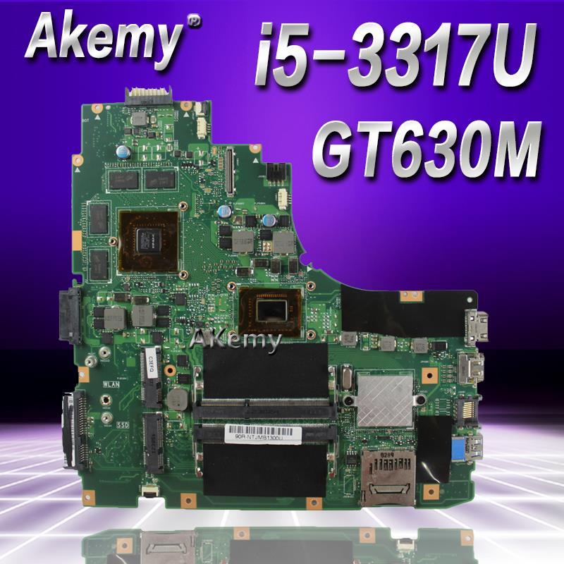 Akemy K46CM Laptop motherboard for ASUS A46C S46C K46CB K46CM K46C K46 Test original mainboard I5-3317U GT630MAkemy K46CM Laptop motherboard for ASUS A46C S46C K46CB K46CM K46C K46 Test original mainboard I5-3317U GT630M