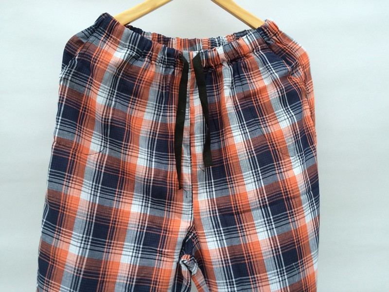plaid men\'s pajama pants