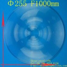 Диаметр 255 мм фокусное расстояние 1000 мм линза Френеля Солнечный концентратор линза солнечная энергетическая линза