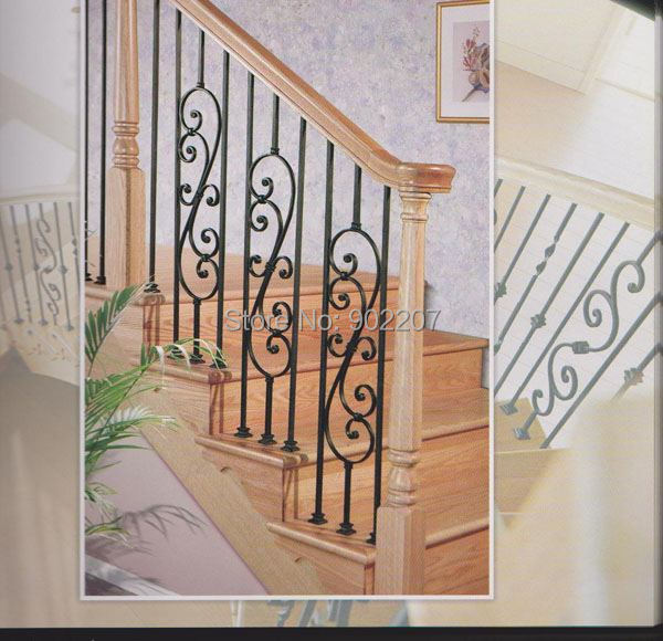 Villas Home Railing Designs Wrought Iron Handrail Iron Balustrade Iron Railing Steel Railings