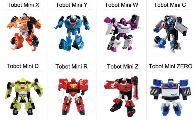 2015 Tobot Mini Evolution Korean Turn On Robot Action Figure X Y W