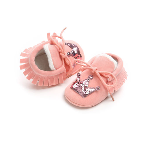 Winter Warm Baby Boots Infant Kids Booties Toddler Girls Boys Walking Shoes New