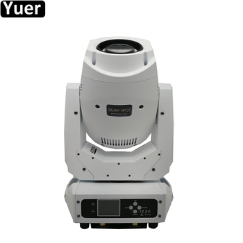 2020 NEW White Shell 200W Beam Spot 2IN1 LED Moving Head Light DJ Spot Moving Head Light for Stage Theater Disco Nightclub Party
