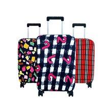 Voyage de mode d'ALYMLH sur la couverture de bagage de route Couverture de valise protectrice Trolley cas Couverture de voyage de bagage de poussière pour 18 à 30inch