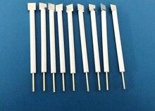 10 * 10 * 0.1mm platinum electrode, gold electrode PTFE electrode platinum electrode auxiliary