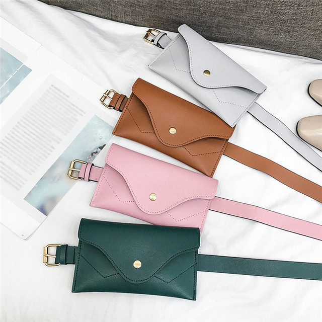 New Women Fanny Pack Female Waist Bag Phone Pouch Bags Brand Design Women Envelope Bags for Ladies Girls Belt Bags Gift heuptas