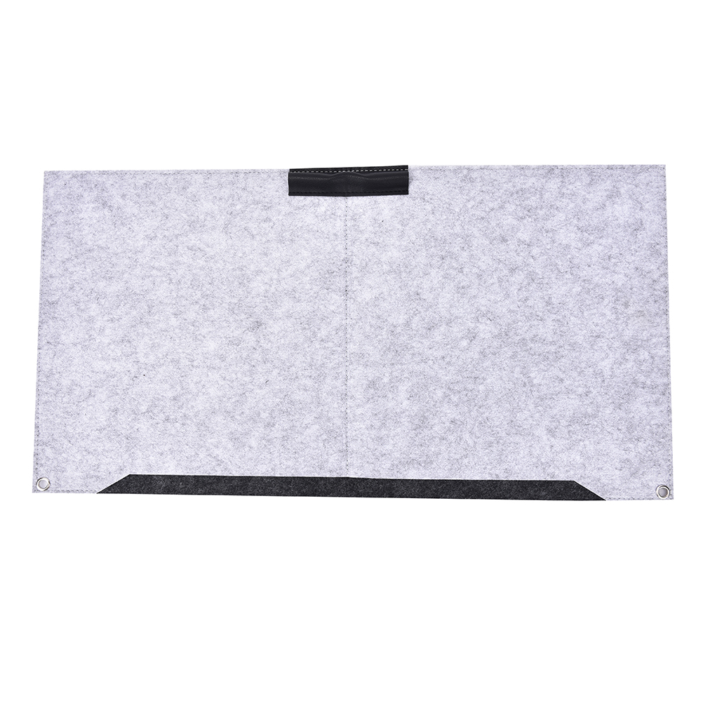 JETTING Durable Computer Desk Mat Modern Table Felt Office Desk Mat Mouse Pad Pen Holder Wool Felt Laptop Cushion Desk Mat Pad