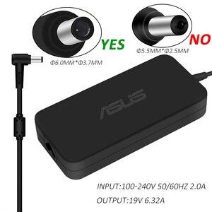 Image 1 - Caricabatterie ca 19V 6.32A 120W 6.0*3.7mm per Asus TUF Gaming FX705GM FX705GE FX705GD FX505 FX505GD FX505GE adattatore per Laptop