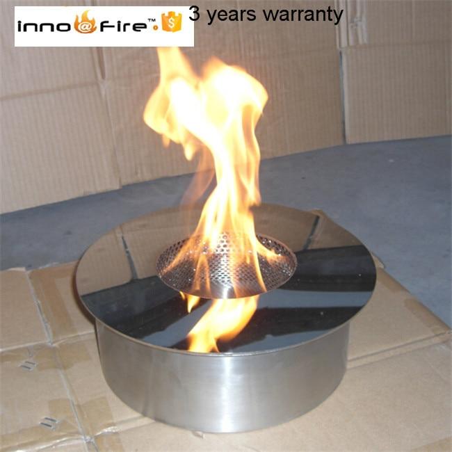 3 Liter Round Manual Bio Ethanol Fire Bowl