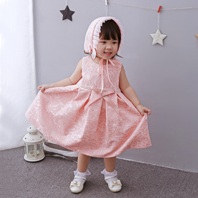 Pink font b Baby b font font b Girl b font font b Dress b font 2 bulan bayi girl dress beli murah 2 bulan bayi girl dress lots,Pakaian Bayi 2 Bulan