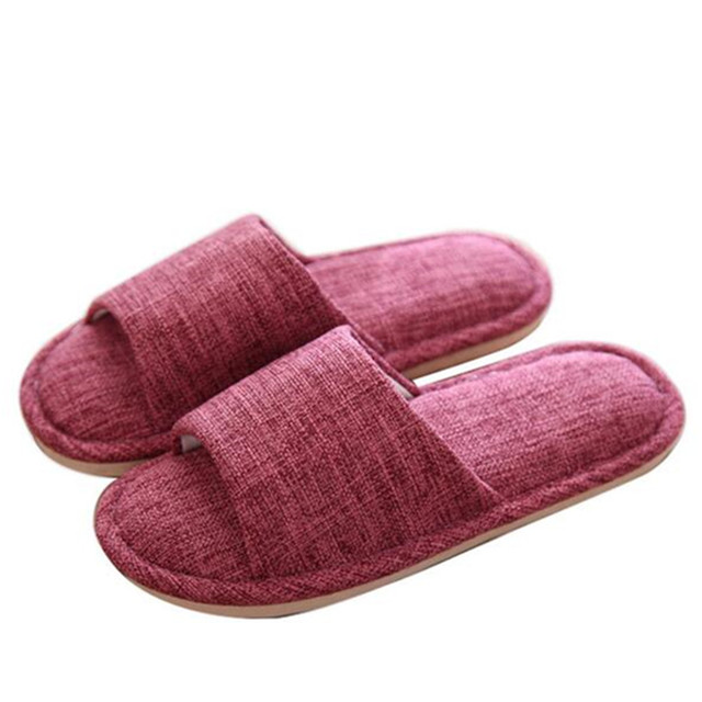 bedroom shoes. Fashion Bedroom Slippers Made Of Hemp Summer Anti Slip Solid Color House  Shoes For Man