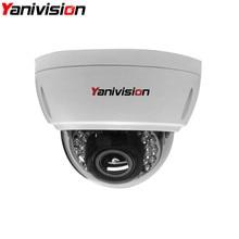 2.8-12mm Varifocal Lens Vandalproof IR CCTV Security IP Dome Motion Detection 5MP 4MP 960P 1080P IP Camera H.265 Surveillance