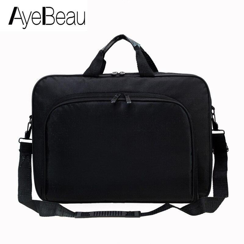 Bolso de mano de trabajo portátil para oficina, bolso de mensajero para hombre, maletín para documentos, ordenador portátil, bolso de hombro, 15,6 Tablet PC
