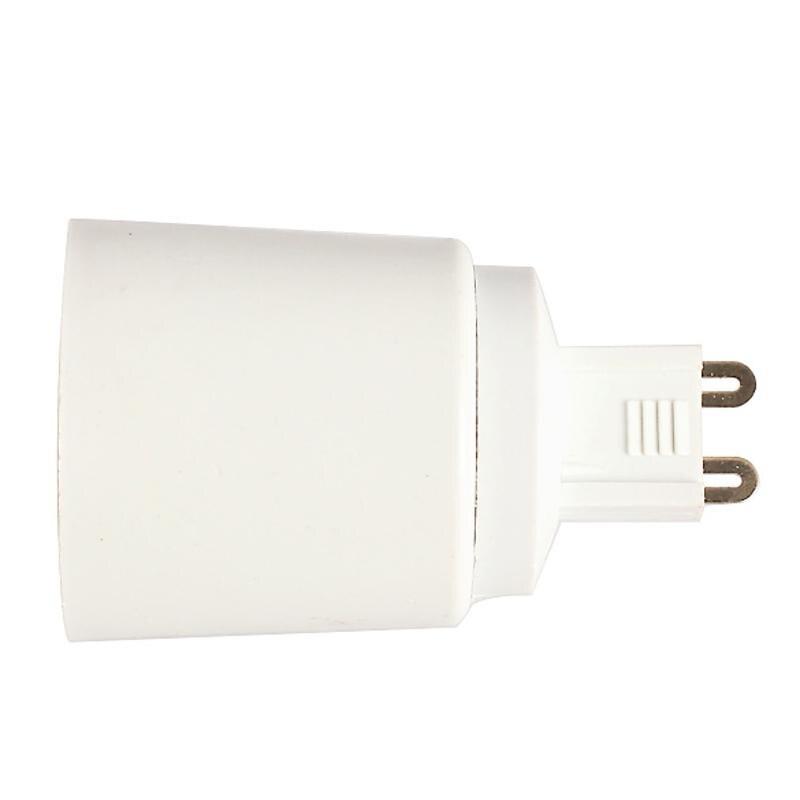 G9 To E27 Socket Base Halogen CFL Light Bulb Lamp Adapter Converter Holder Plastic Plug Extender Led Light Use Base Type Adapter