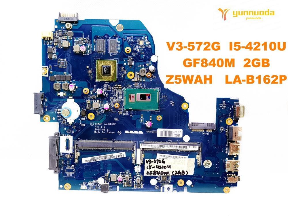 Original for font b ACER b font V3 572G E5 571G laptop motherboard E5 571G V3