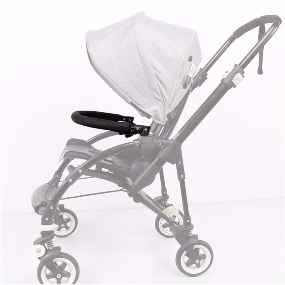 Baby Stroller Accessories Trolley Armrests Bumper Bar Handlebar With PU Leather Oxford Fabric Cover For Bugaboo Bee3 Bee 3 ольга черных по имени кассандра