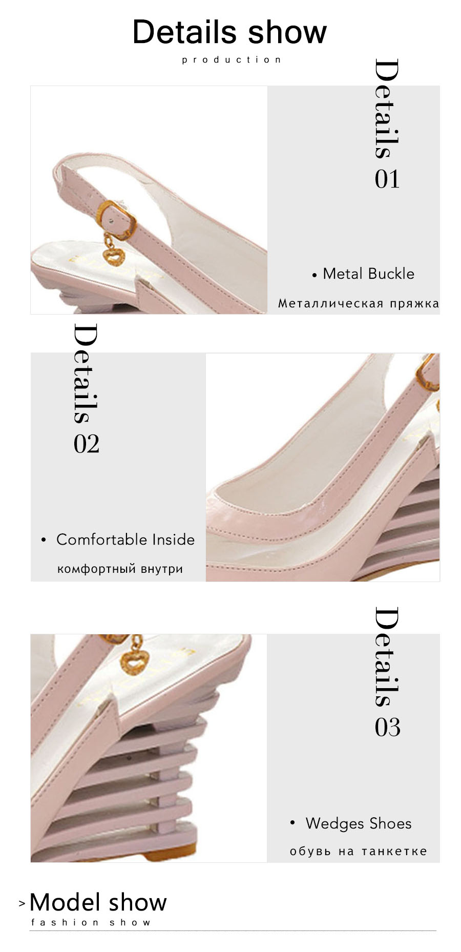 Taoffen 2019 New Women Heel Sandals Buckle Open Toe High Wedge Shoes Women's Summer Shoes Sexy Women Shoes Footwear Size 34-43