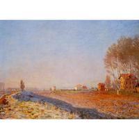 Các Đồng Bằng của Colombes, Sương trắng của Claude Monet Oil paintings sinh sản Phong Cảnh art hand-painted trang trí nội thất