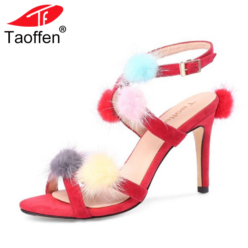 7f19c1225ef6da Sandales D'été Hauts Bowknot Chaussures rouge Femmes Talon Noir Marque Sexy  Mince Cheville 34 39 À bleu Taille Sandale Sangle Taoffen Talons Qualité  gYpqZw6