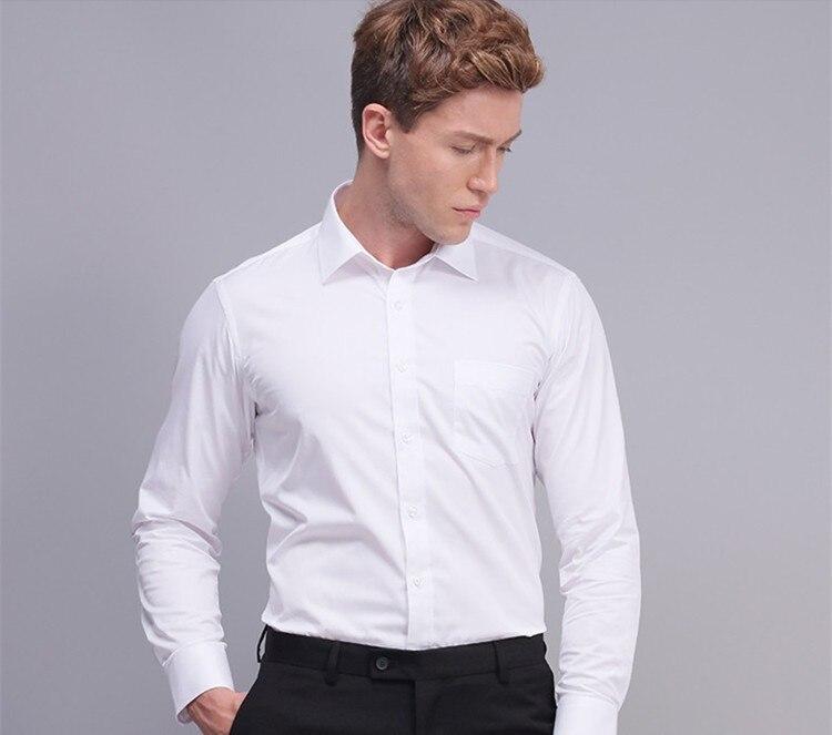 HTB1zmCGNXXXXXb3apXXq6xXFXXXp - С длинным рукавом Тонкий Для мужчин платье рубашка 2017 Фирменная Новинка модные дизайнерские Высокое качество Твердые мужской Костюмы Fit Бизнес Рубашки для мальчиков 4XL YN045
