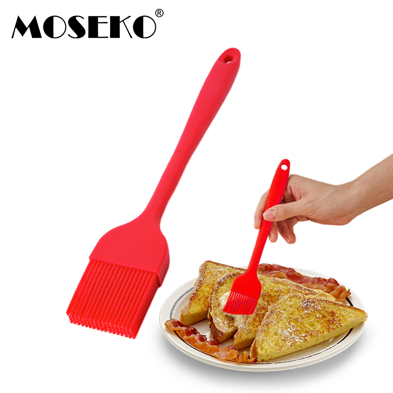 MOSEKO Silicone Pastry Brush Baking Bakeware BBQ Brushes Butter Cake Pastry Bread Oil Cooking Basting Tools Kitchen Accessories