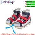 Princepard орхтопедические сандалии для детей  летняя детская обувь  ортопедические стельки  сандалии для мальчиков и девочек  Размер 20-36